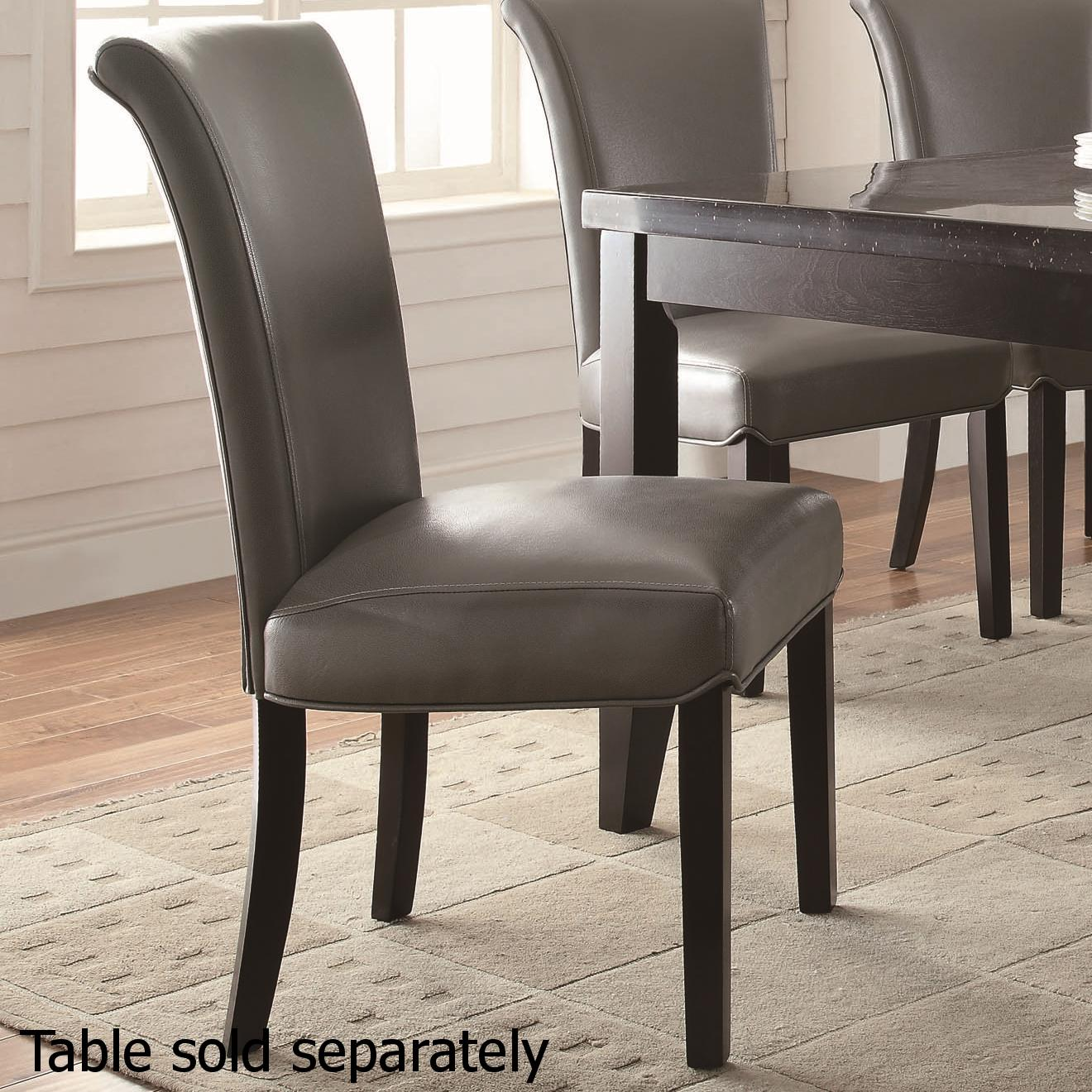 Grey Dining Room Chairs: Steal-A-Sofa Furniture Outlet Los