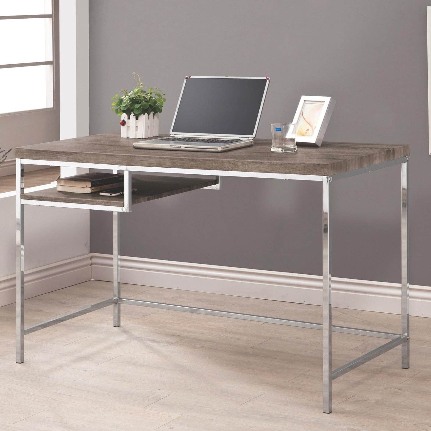 grey metal computer desk. grey metal computer desk  stealasofa furniture outlet los
