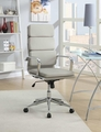 Grey Metal Office Chair