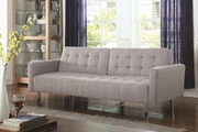 Grey Metal Sofa Bed