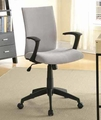 Grey Plastic Office Chair