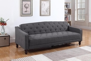 Grey Wood Sofa Bed