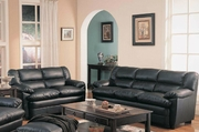 Harper Black Sofa and Loveseat Set
