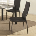 Hobson Black Chairs (Min Qty 2)
