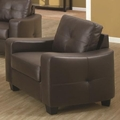 Jasmine Brown Leather Chair