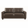 Jasmine Brown Leather Sofa