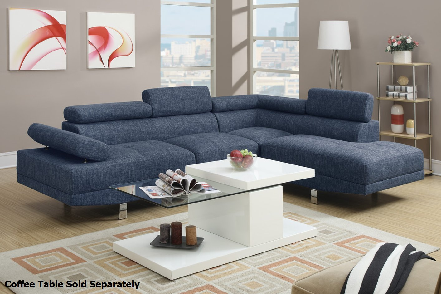 blue sectional sofa Roselawnlutheran