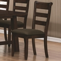 Julius Rustic Walnut Chairs (Min Qty 2)