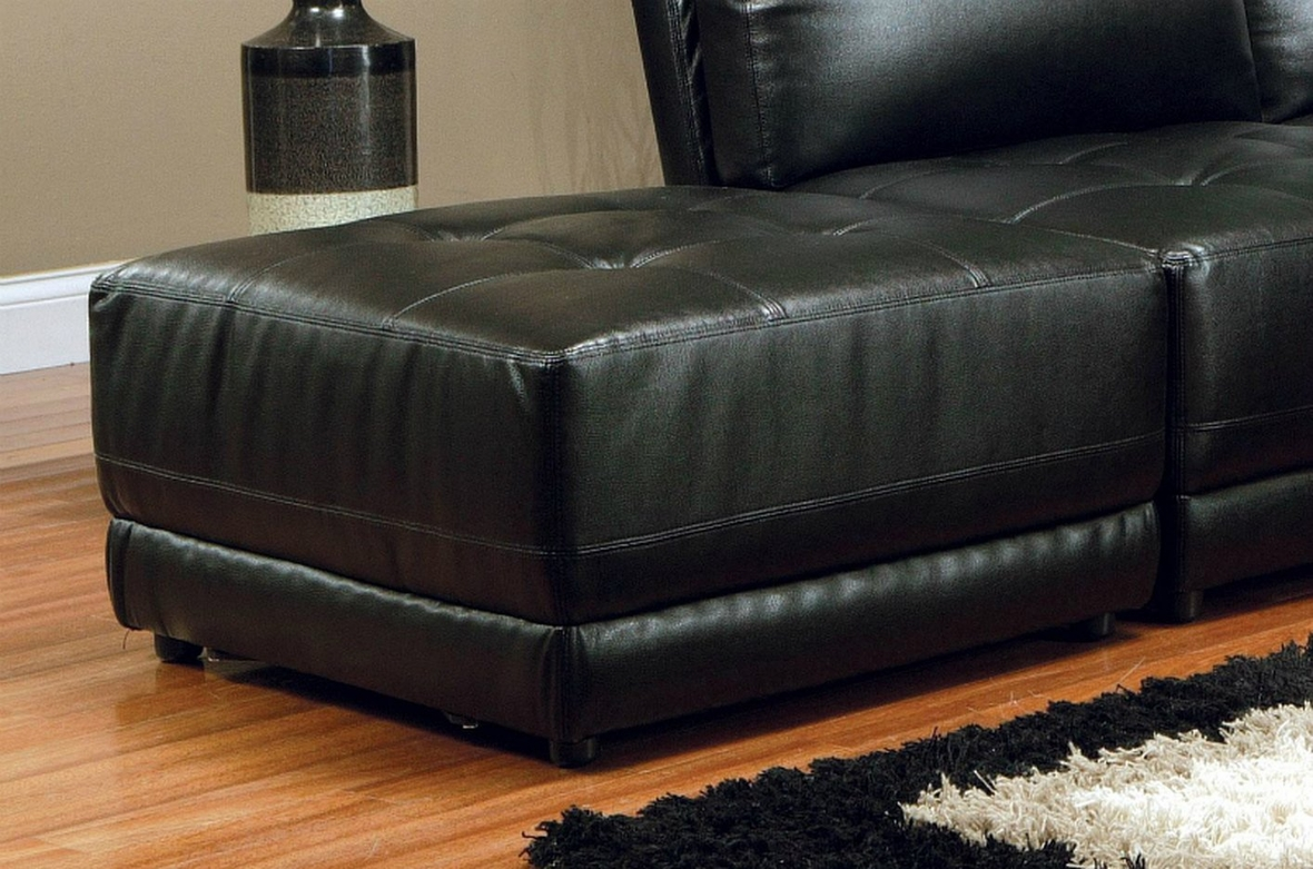 Coaster 500891 500892 kayson black sectional sofa in los for Sectional sofa los angeles ca