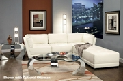 Kayson White Reversible Sectional Sofa