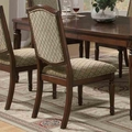 Keely Brown Cherry Chairs (Min Qty 2)