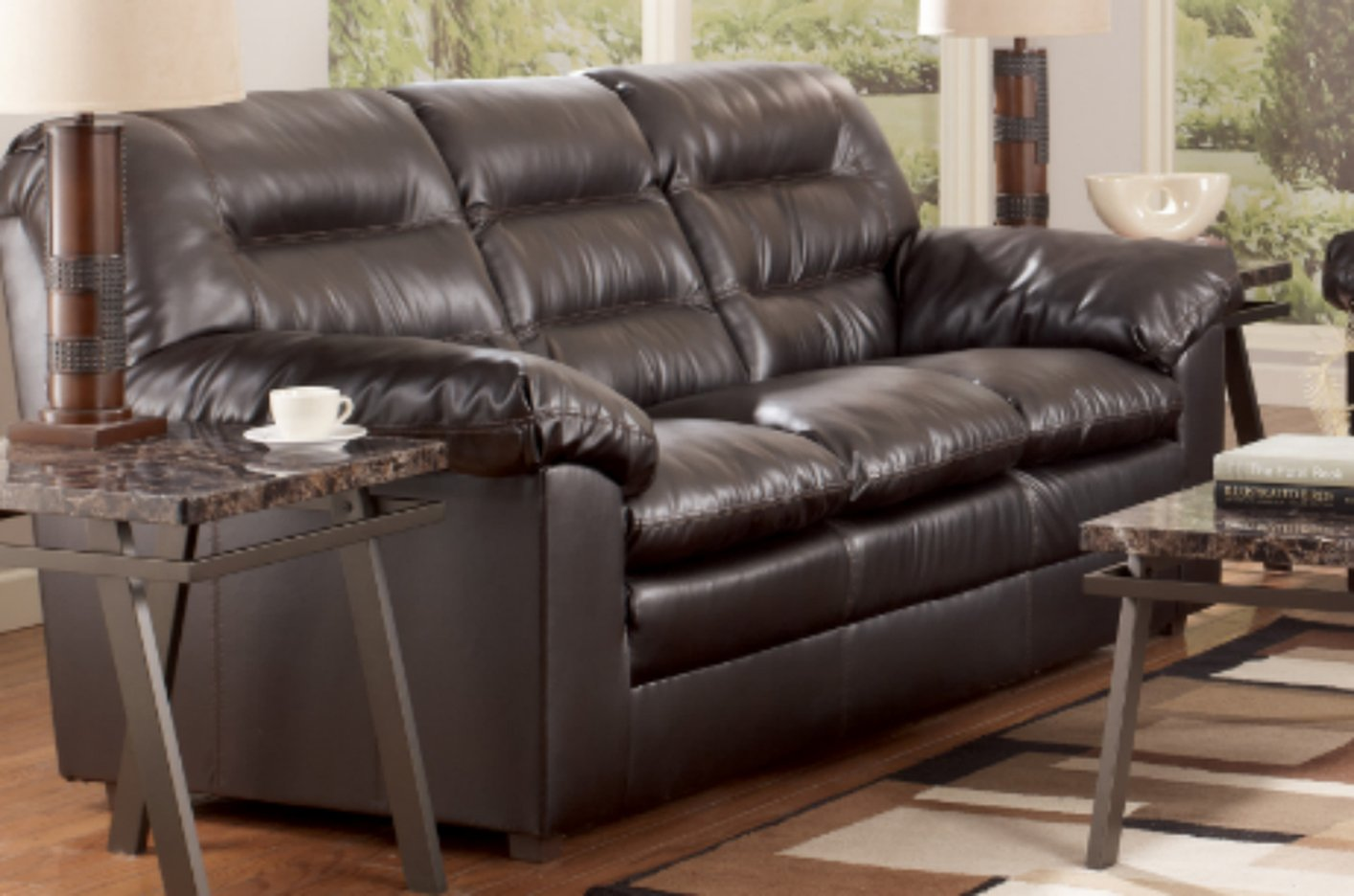 Knox Durablend Coffee Sofa