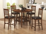 Knoxville Oak Wood Pub Table Set
