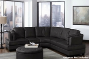Landen Black Sectional Sofa