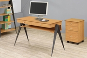 Lori Maple Computer Desk
