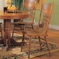 Mackinaw Warm Oak Chairs (Min Qty 2)