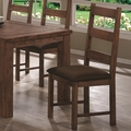 Maddox Rustic Brown Chairs (Min Qty 2)