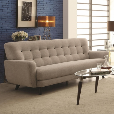 Maguire Grey Fabric Sofa