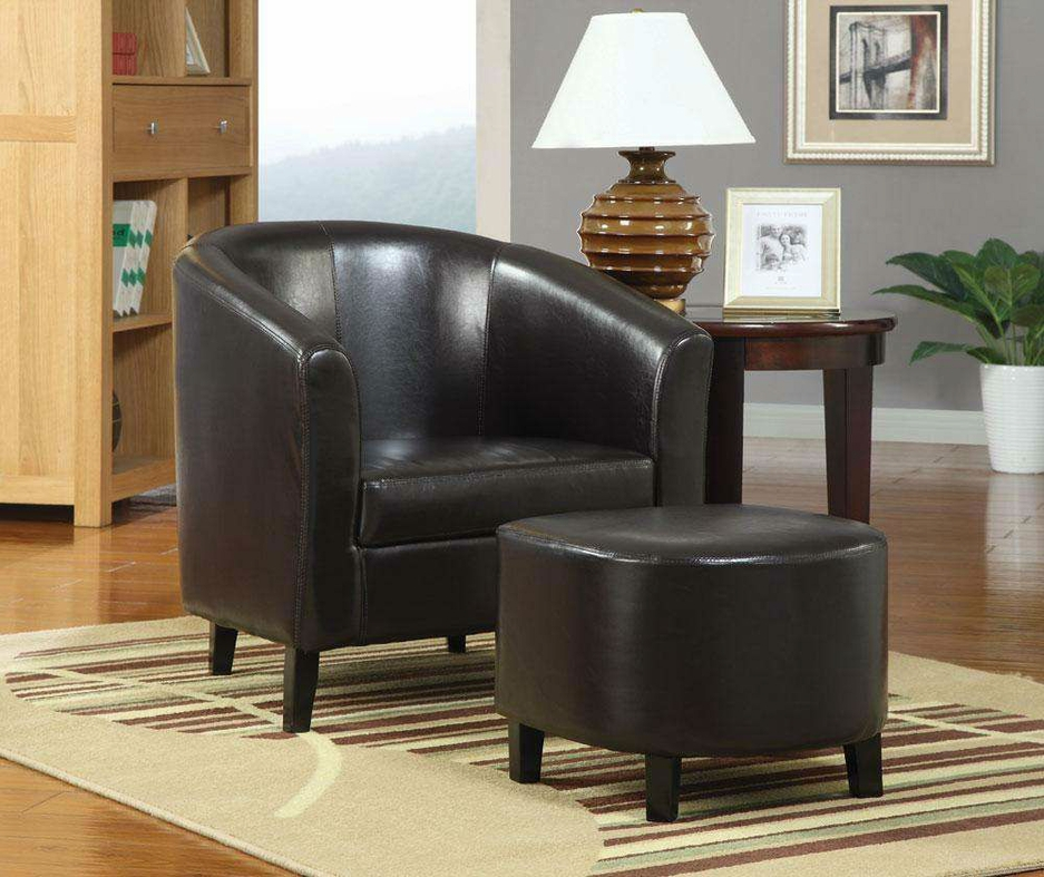 Brown Leather Accent Chair Steal A Sofa Furniture Outlet