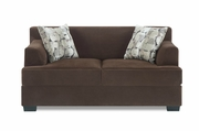 Martha Chocolate Loveseat