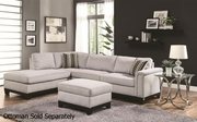 Mason Grey Fabric Sectional Sofa