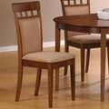 Brown Wood Dining Chair