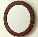 Brown Wood Mirror