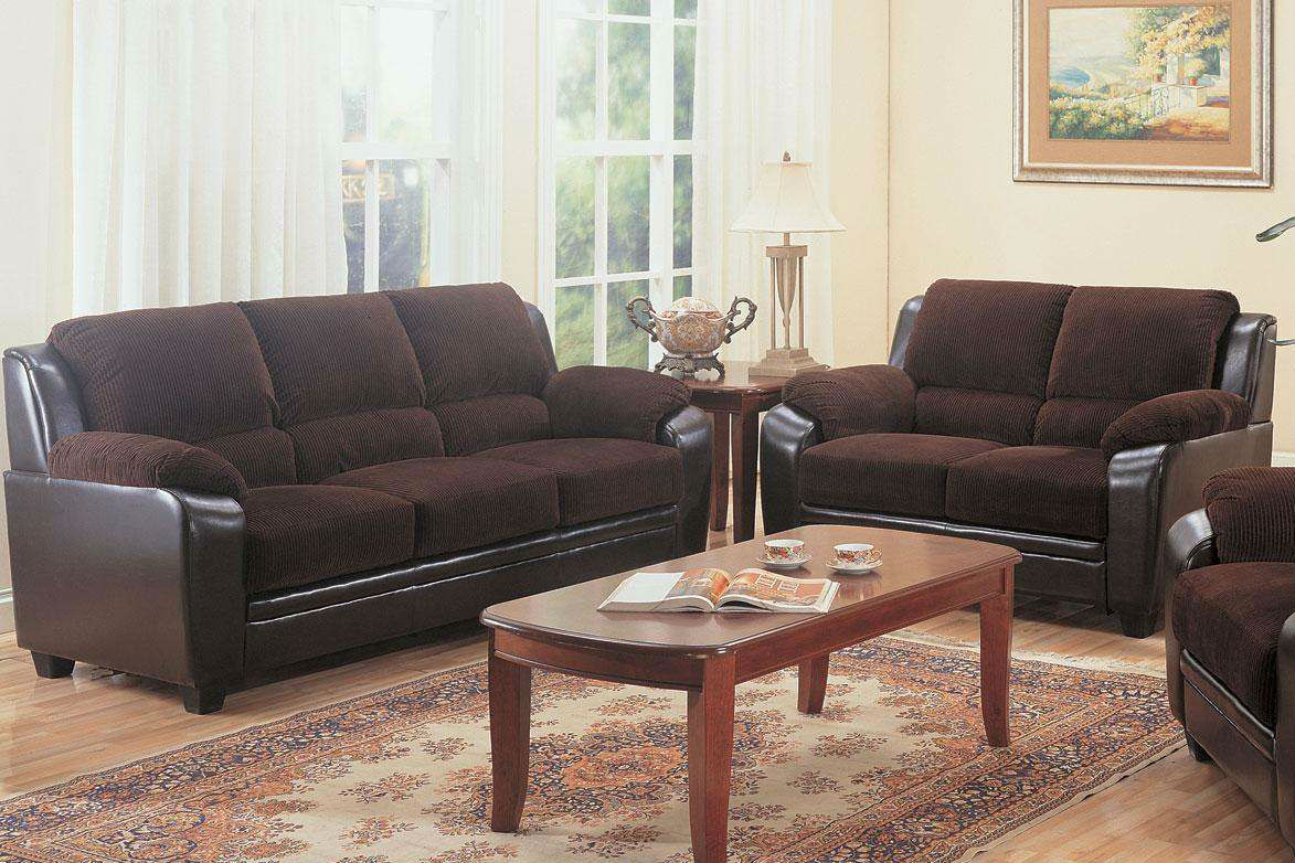 Monika brown leather sofa steal a sofa furniture outlet for Furniture 90036