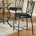 Monroe Black Metal Pub Stool (Min Qty 2)