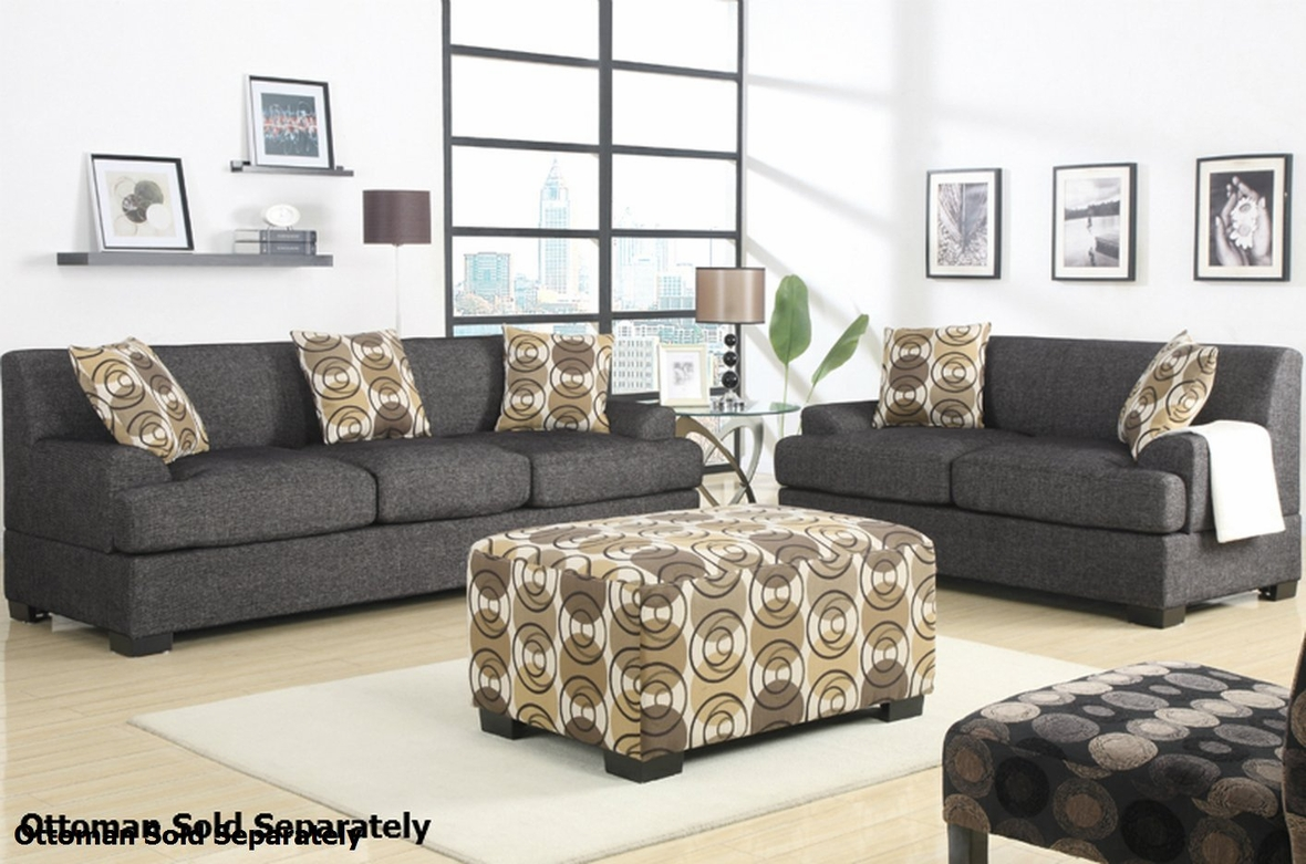 Grey Fabric Sofa And Loveseat Set Steal A Sofa Furniture