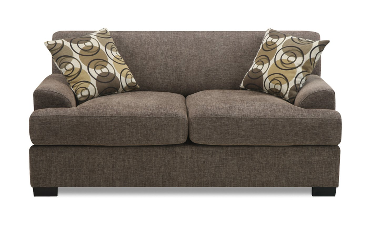 Beige Fabric Loveseat Steal A Sofa Furniture Outlet Los