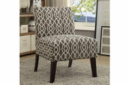 Multi Fabric Accent Chair