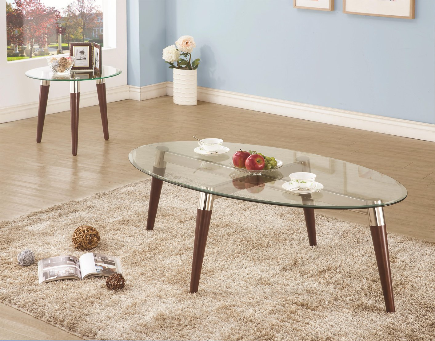 natalia brown glass coffee table steal a sofa furniture outlet los