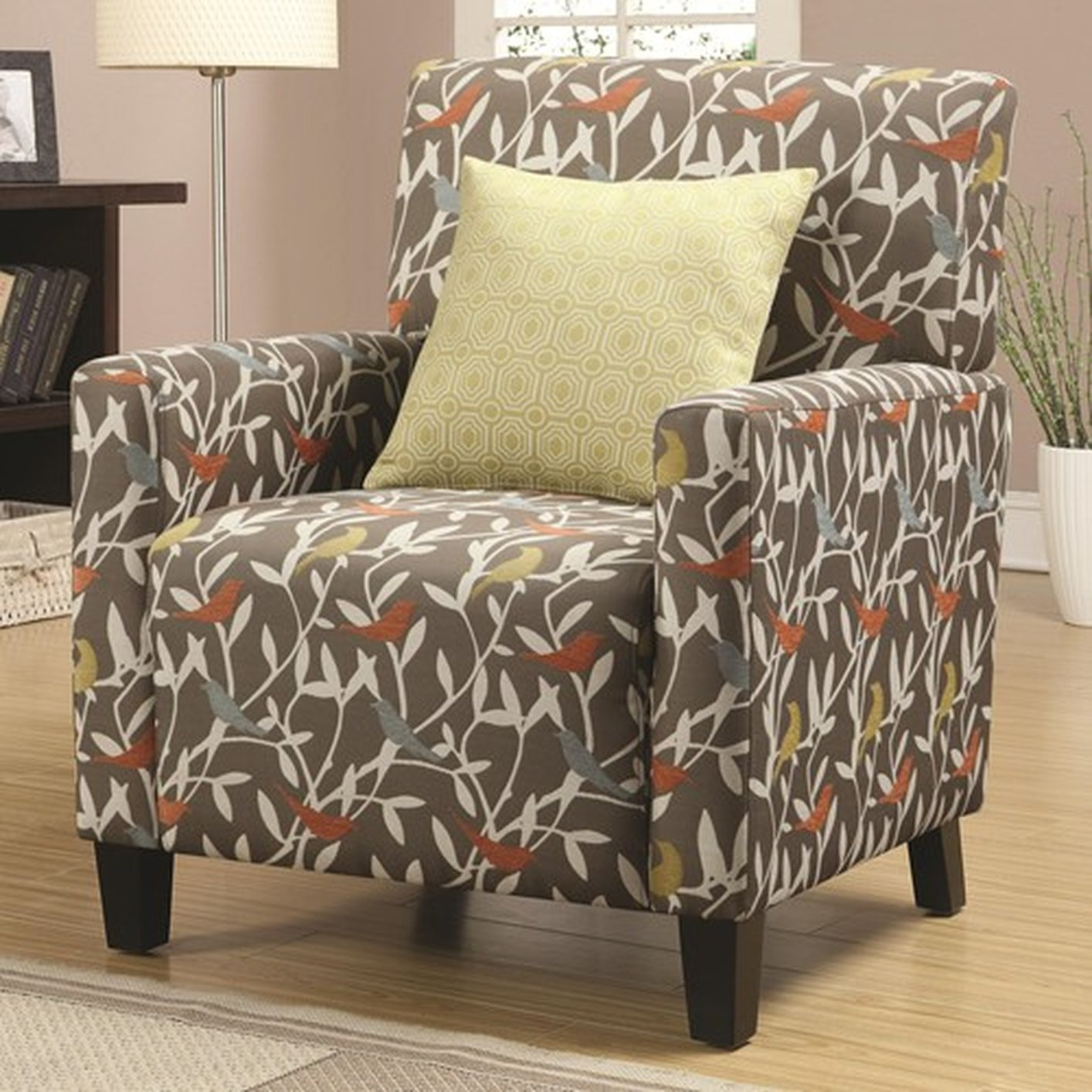 Noella Grey Fabric Accent Chair Steal A Sofa Furniture Outlet