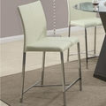 Ophelia Cream Metal Pub Stool (Min Qty 4)