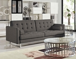 Opus Grey Fabric Sofa Bed