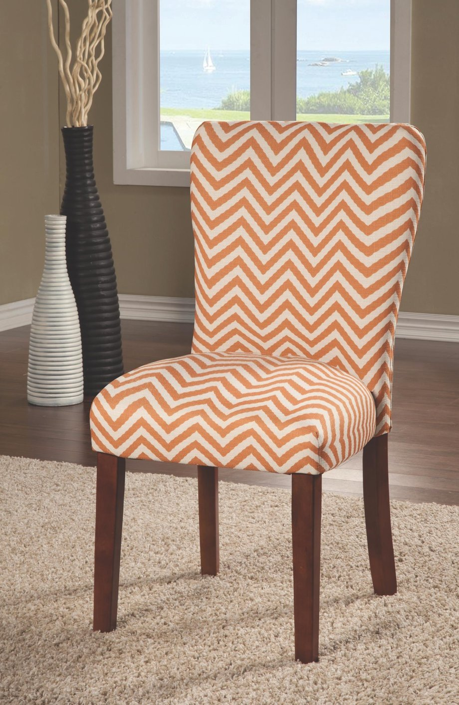 orange fabric dining chair orange fabric dining chair