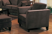Park Place Chocolate Microfiber Chair