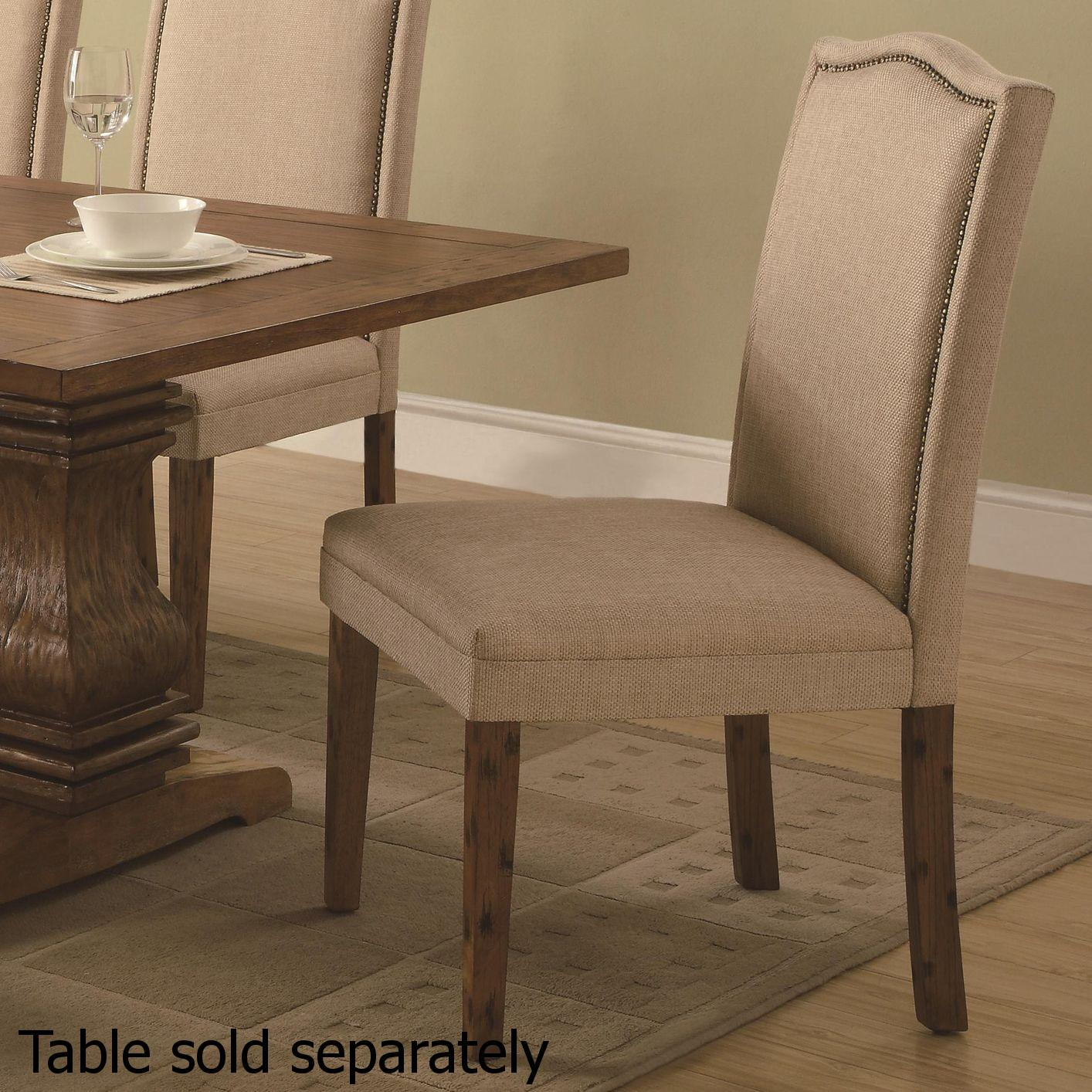 Beige Wood Dining Chair Steal A Sofa Furniture Outlet