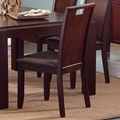 Prewitt Deep Espresso Chairs (Min Qty 2)