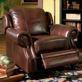 Princeton Brown Leather Chair