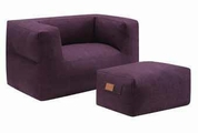 Purple Fabric Chair