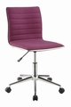 Purple Metal Office Chair
