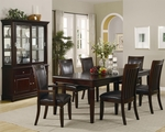 Ramona Walnut Wood Dining Table Set