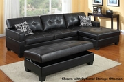 Randall Black Sectional Sofa