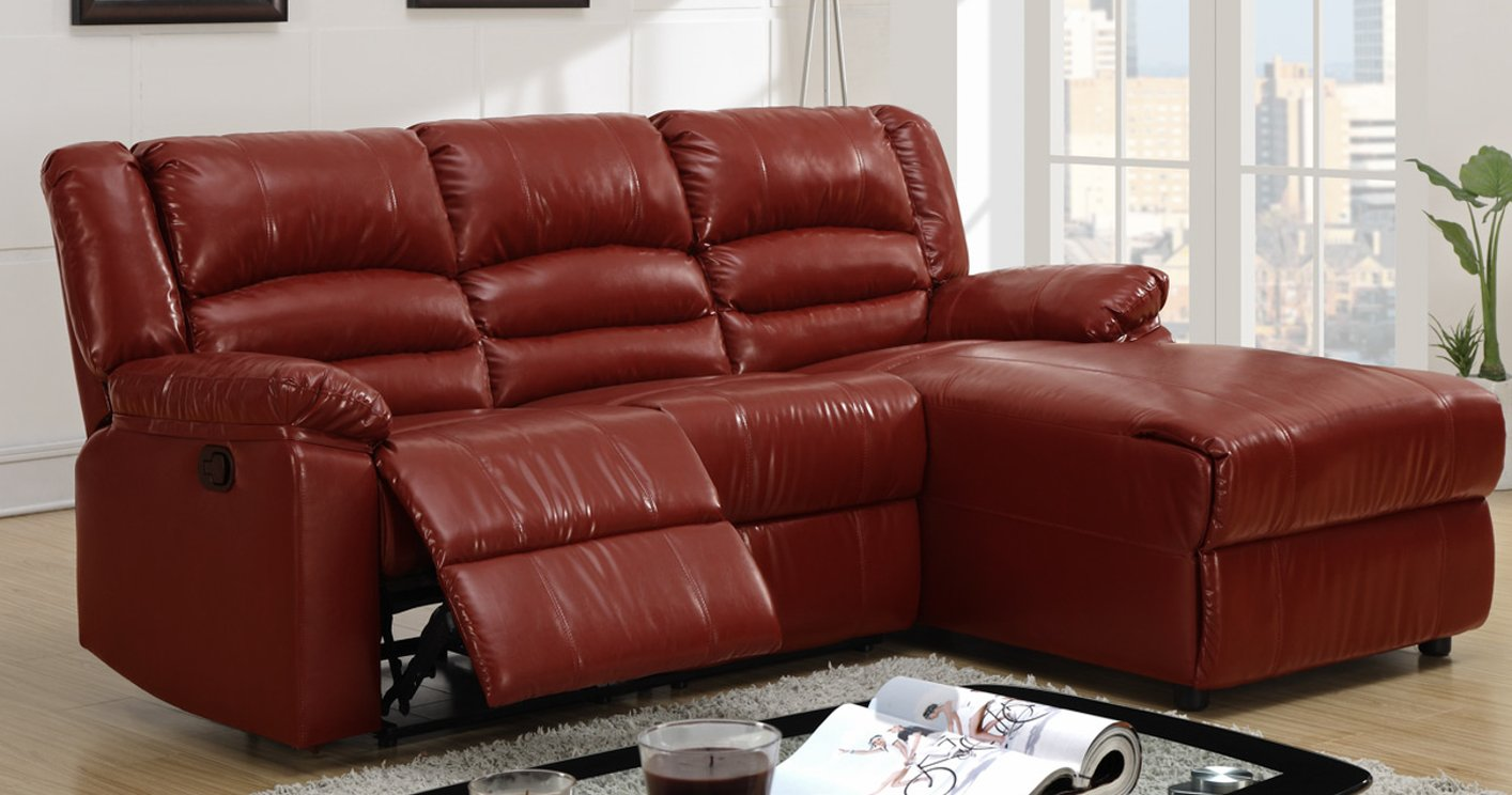 Red Leather Sectional Sofa Steal A Sofa Furniture Outlet Los