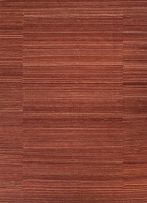 Red Fabric Floor Rug
