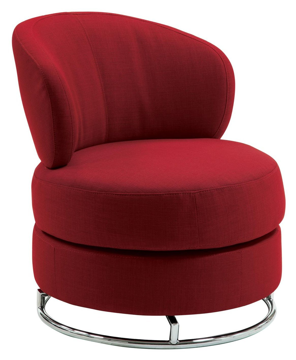 red fabric swivel chair - steal-a-sofa furniture outlet los angeles ca