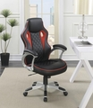 Red Metal Office Chair