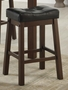 Red Wood Dining Table and Chair Set